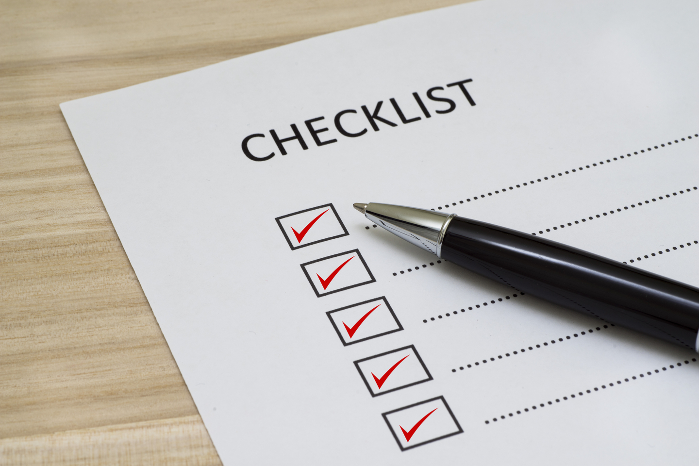 Do you have a go live checklist for your website?